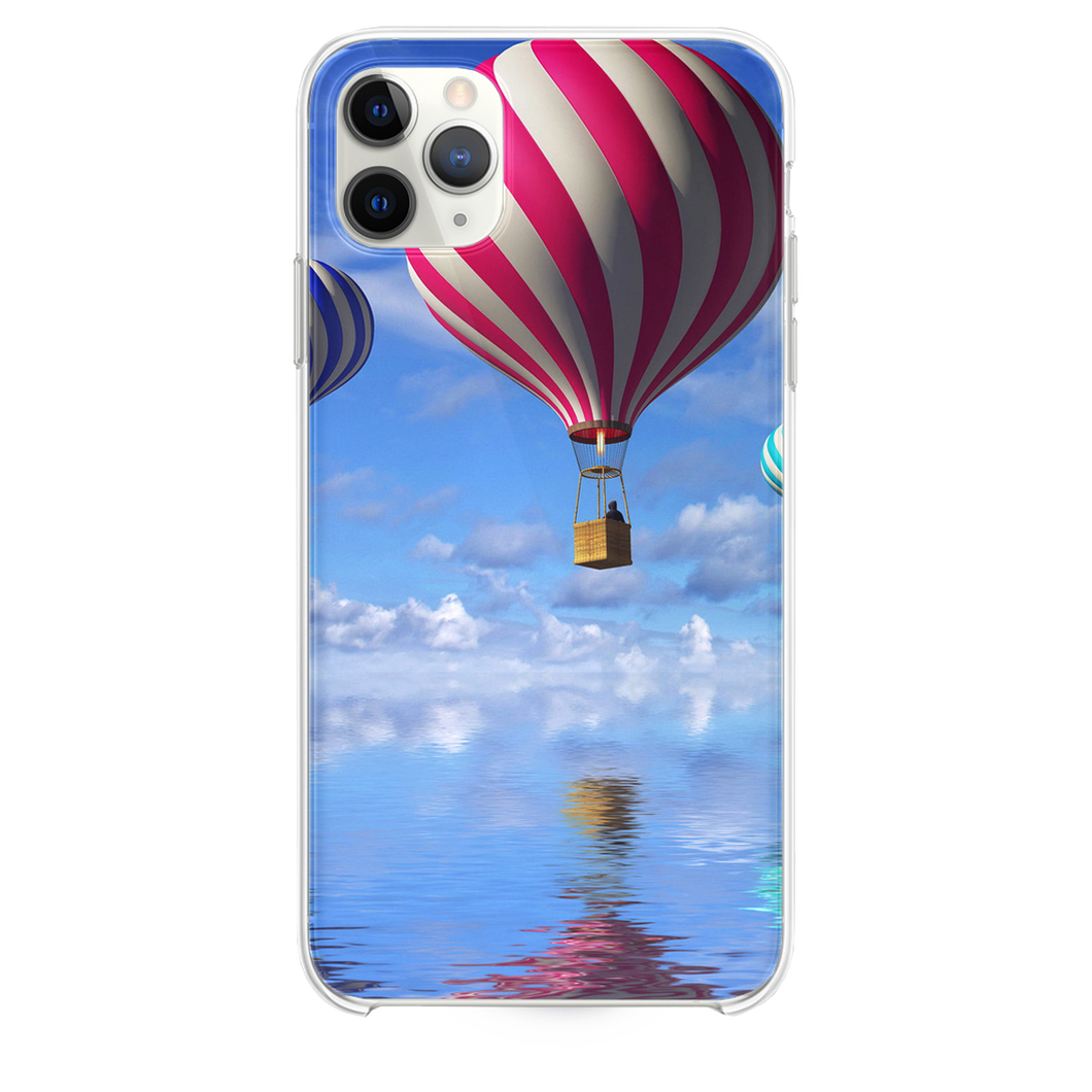 Candy Cane Colored Air Balloons iPhone 11 Pro Max case