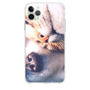Cat And Dog Animal Love Nature Pure iPhone 11 Pro Max case
