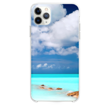Load image into Gallery viewer, Clear Blue Sea Sky iPhone 11 Pro Max case