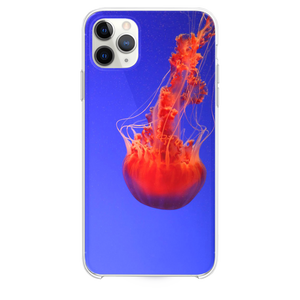 close up photography of red jellyfish iPhone 11 Pro Max case