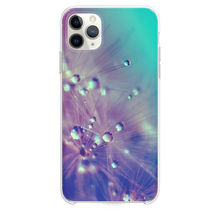 Load image into Gallery viewer, Dandelion Water Drop Closeup iPhone 11 Pro Max case