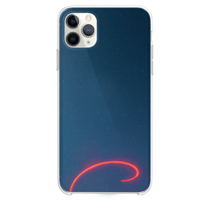 Drone trails on a starry sky iPhone 11 Pro Max case