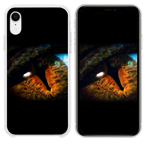 Eye iPhone XR case
