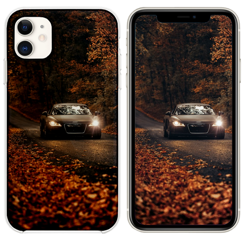 Fall Drives on Country Roads iPhone 11 case