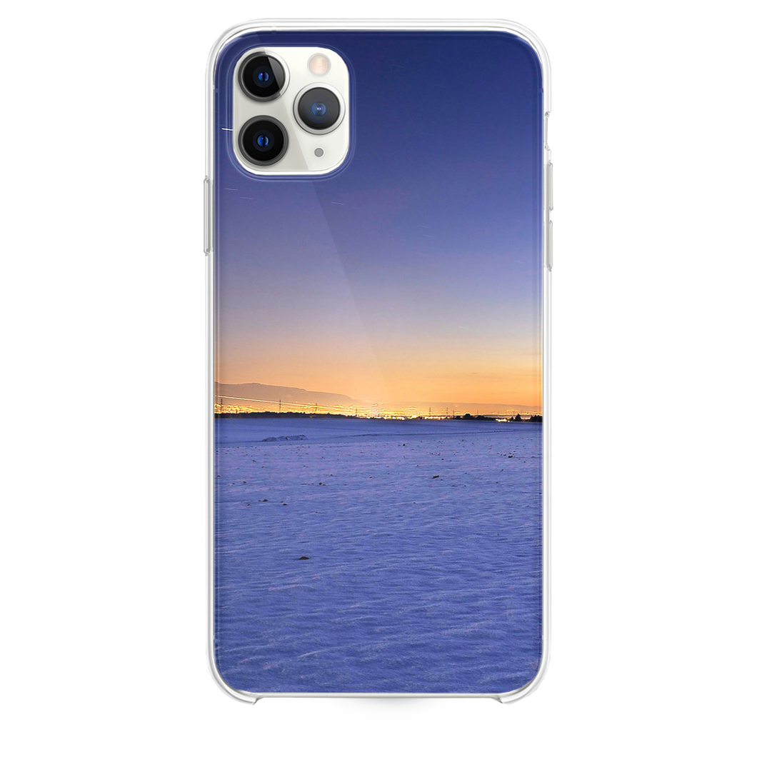 Freezing Night in Switzerland Star Trails Sky  iPhone 11 Pro Max case