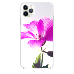 Fresh Sunshine Purple Flower Macro iPhone 11 Pro Max case