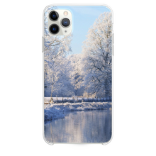 Load image into Gallery viewer, Frozen Mist Forest Lake iPhone 11 Pro Max case