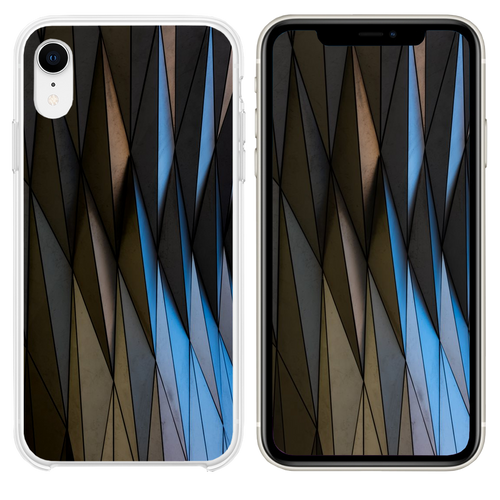 gray building iPhone XR case