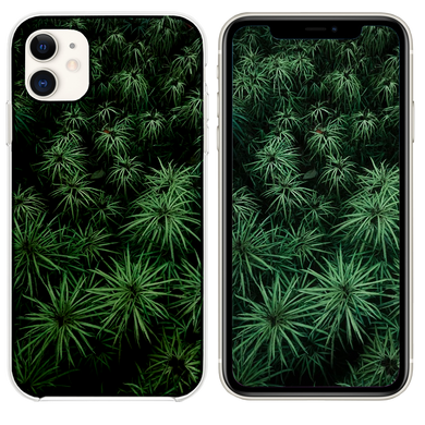 green plants at daytime iPhone 11 case