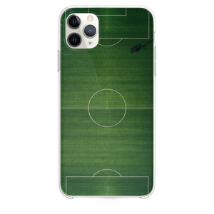 green sports court illustration iPhone 11 Pro Max case