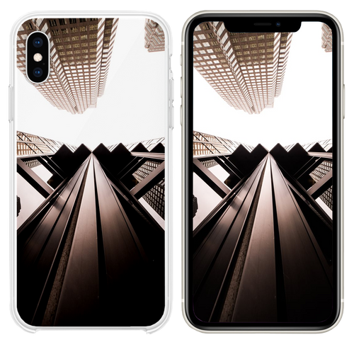 high rise building iPhone XS case