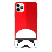 Load image into Gallery viewer, Lego Trooper Red Background iPhone 11 Pro Max case