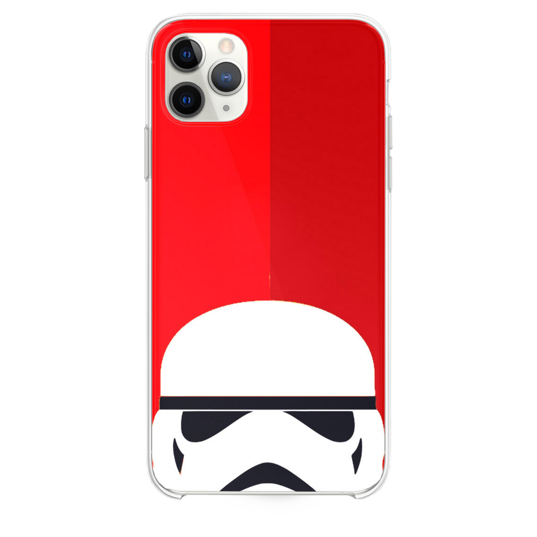 Lego Trooper Red Background iPhone 11 Pro Max case