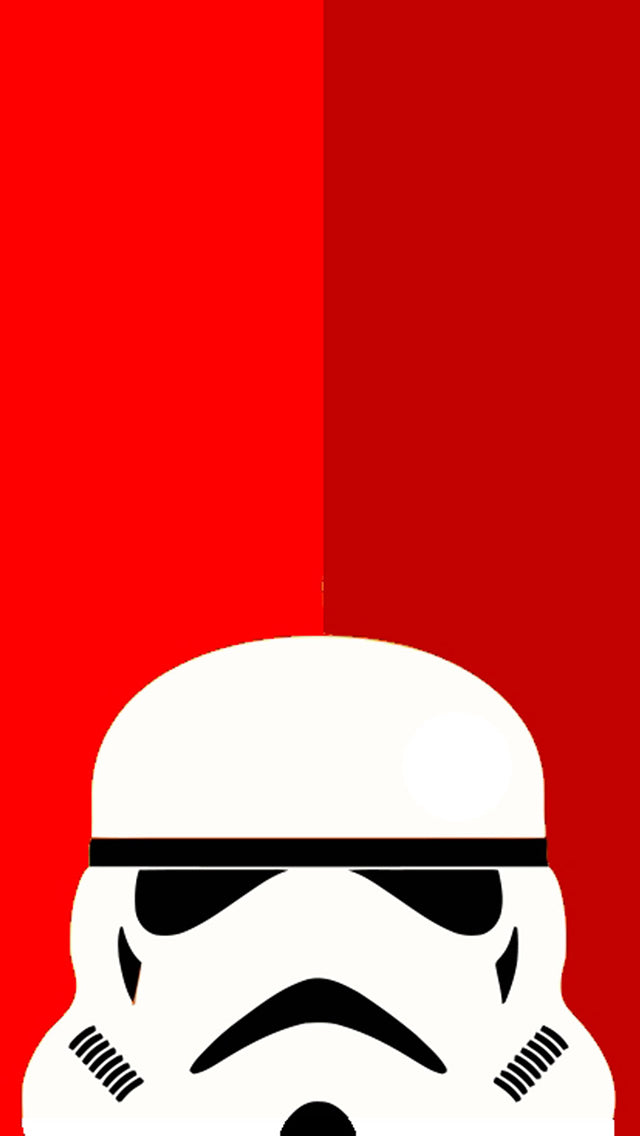 Lego Trooper Red Background Iphone 11 Pro Max Wallpaper