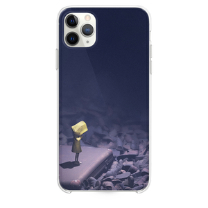 Little nightmares dark anime art illustration iPhone 11 Pro Max case