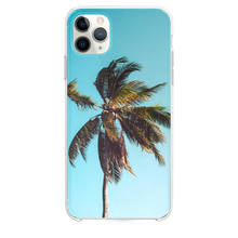 Load image into Gallery viewer, low angle photography of coconut tree iPhone 11 Pro Max case