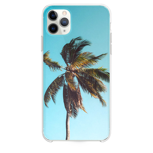 low angle photography of coconut tree iPhone 11 Pro Max case