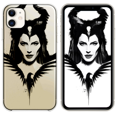 maleficent mistress of evil poster 4k iPhone 11 case