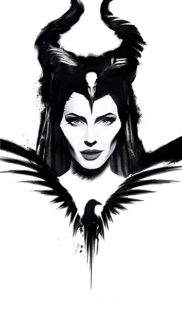 Maleficent Mistress Of Evil Poster 4k iPhone 11 Wallpaper