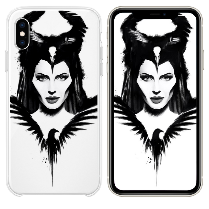 maleficent mistress of evil poster 4k iPhone XS case