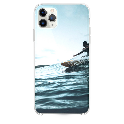 man surfboarding during daytime iPhone 11 Pro Max case