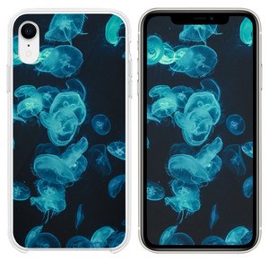 Moon Jellyfishes iPhone XR case