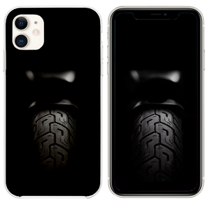 Motorcycle Rear Tire Dark iPhone 11 case