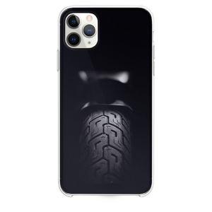 Motorcycle Rear Tire Dark iPhone 11 Pro Max case