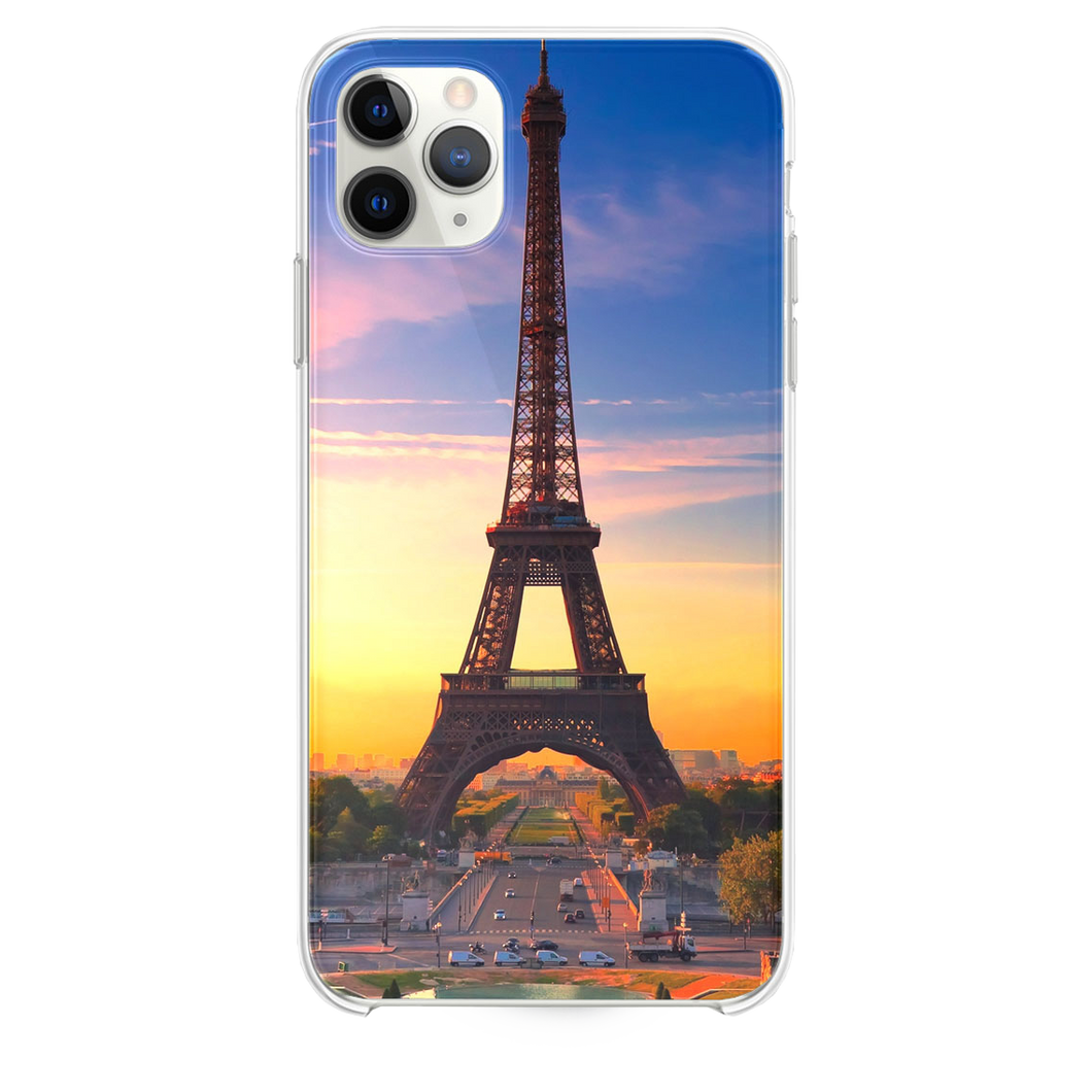 Nature Sunset Eiffel Tower  iPhone 11 Pro Max case