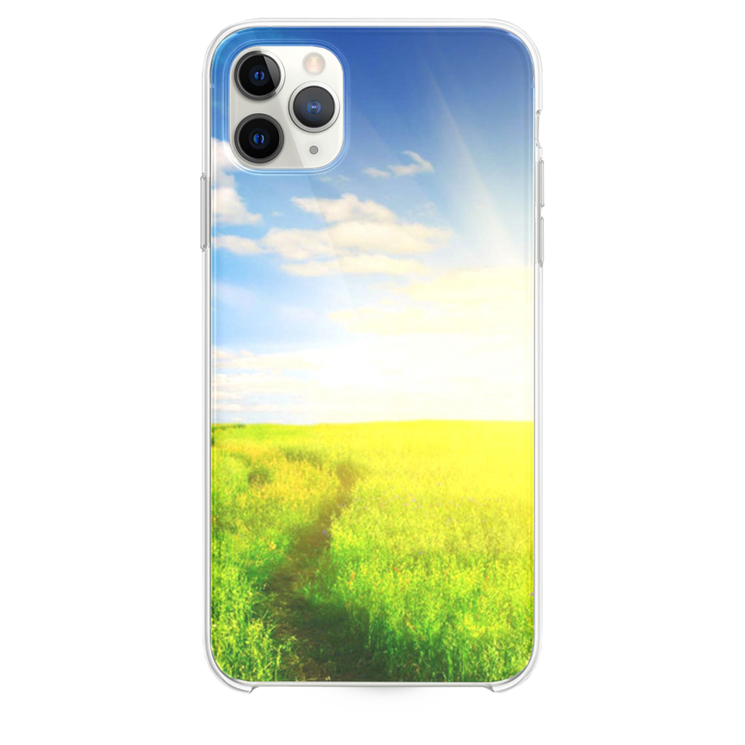 Nature Sunshine Grassland Field iPhone 11 Pro Max case