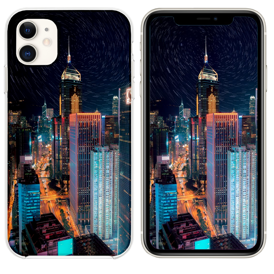 New York City During Nighttime Iphone 11 Case