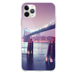 Night Lights River Bridge iPhone 11 Pro Max case