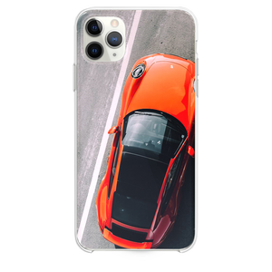 orange vehicle on road close up photography iPhone 11 Pro Max case