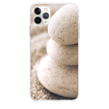 Load image into Gallery viewer, Overlap Pebble On Beach Sand iPhone 11 Pro Max case