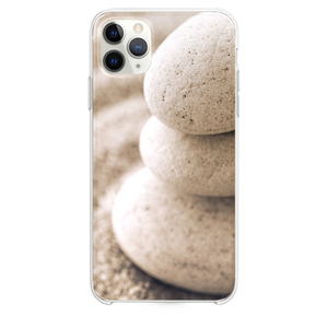 Overlap Pebble On Beach Sand iPhone 11 Pro Max case