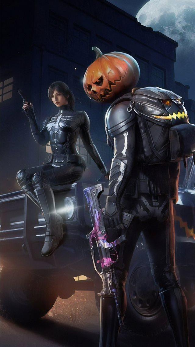 Pubg Halloween iPhone 11 Wallpaper