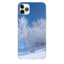 Load image into Gallery viewer, Pure Snowy Forest iPhone 11 Pro Max case