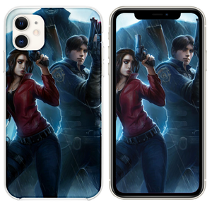 Resident Evil Claire Redfield Chris Redfield 4k Ar Iphone 11 Case