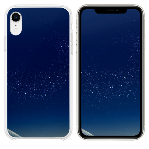 Samsung Blue Galaxy S8 Space Pattern Background iPhone XR case