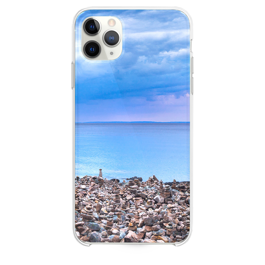 Seaside Pebble Piles iPhone 11 Pro Max case