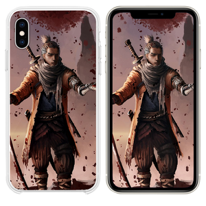 sekiro shadows die twice game fanart 4k iPhone XS case