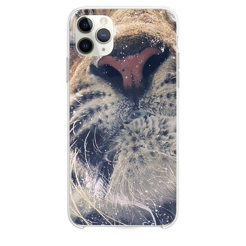 Shaking tiger water iPhone 11 Pro Max case