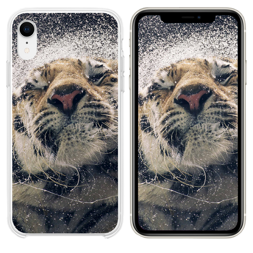 Shaking tiger water iPhone XR case