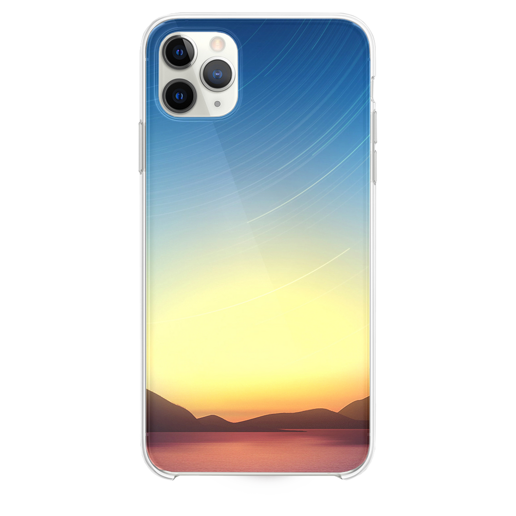 Star Trails Lake Dusk iPhone 11 Pro Max case