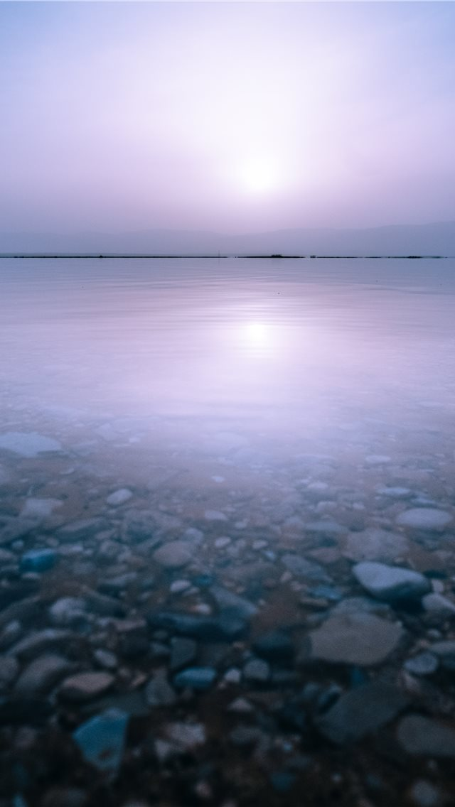 Stones And Body Of Watr iPhone 11 Wallpaper