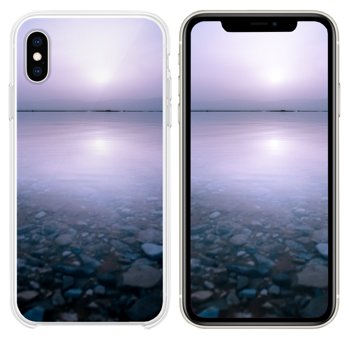 stones and body of watr iPhone XS case