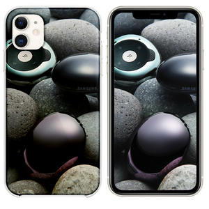 Stones and samsung gadgets iPhone 11 case