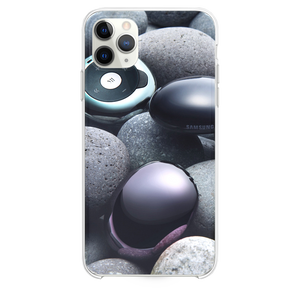 Stones and samsung gadgets iPhone 11 Pro Max case