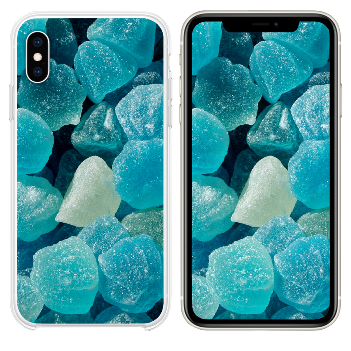 Sugar candy background iPhone XS case