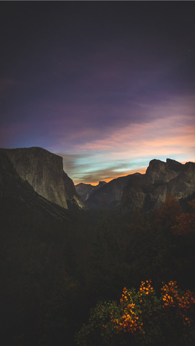 Tall Mountain In Night Sky Iphone 11 Case Cover And Wallpaper